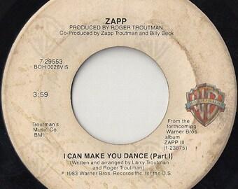 "Zapp - I Can Make You Dance 7"" Vinyl 45 PROMO Copy Funk Electronic Disco Soul"