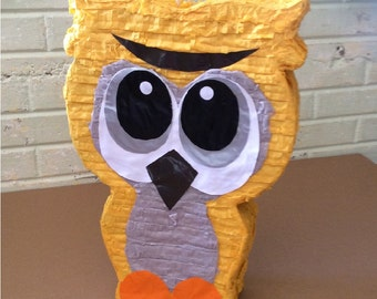 Yellow Owl pinata