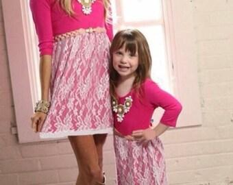 Mommy & me dresses(read description)