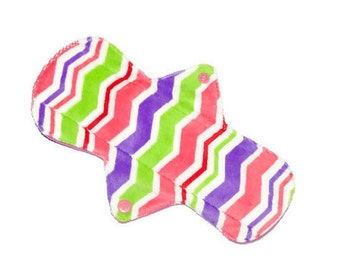 Minky Cloth Pad/soft minky cloth pads/oohlala cloth pads/mamacloth pads/feminine product/ soft cloth pads/11'' pads/9 1/2''