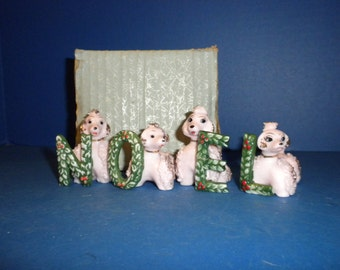 NOEL Poodle Set - Perfectly Rare!