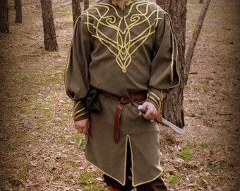 """Handcrafted  man's Elven costume """"Elladan the Elven Prince »"""