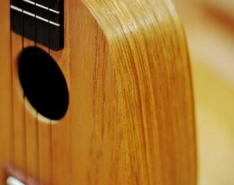 Concert pineapple ukulele Burma