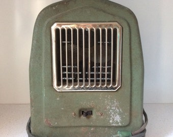 Vintage Metal Space Heater