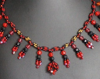 Devi Bead Necklace #016