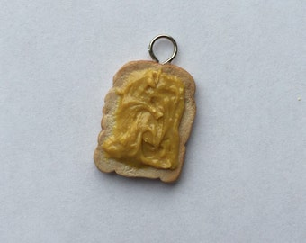 Peanut Butter Toast Charm