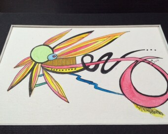 Abstract Drawing--Sunfire
