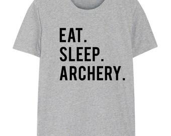 Archery shirt, Archery, Gifts For Archers, Eat Sleep Archery tshirts - 607