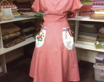 Reproduction 50s Dress size 14