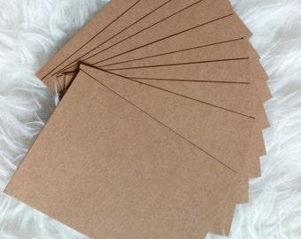 Kraft paper postcard 350g (free international shipping)