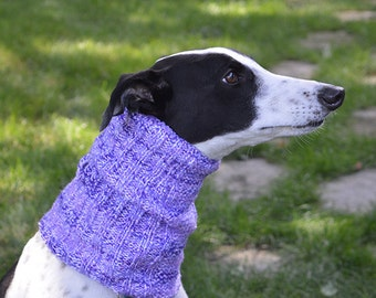Greyhound snood / Galgo snood (Scarf, Neck warmer, Ear warmer)
