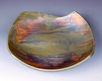 Raku bowl #19