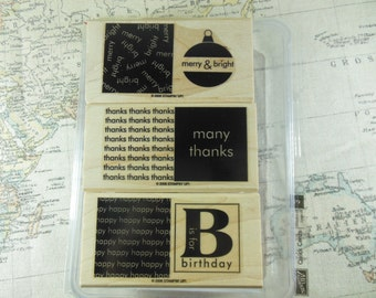 Quick Cards Stampin Up Set of 3
