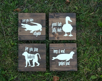 See You Later Alligator Quotes | Kids Room Decor | Nursery Decor | Baby Shower Gift | Gifts under 25 | Baby Gift | Nursery | Baby Animal