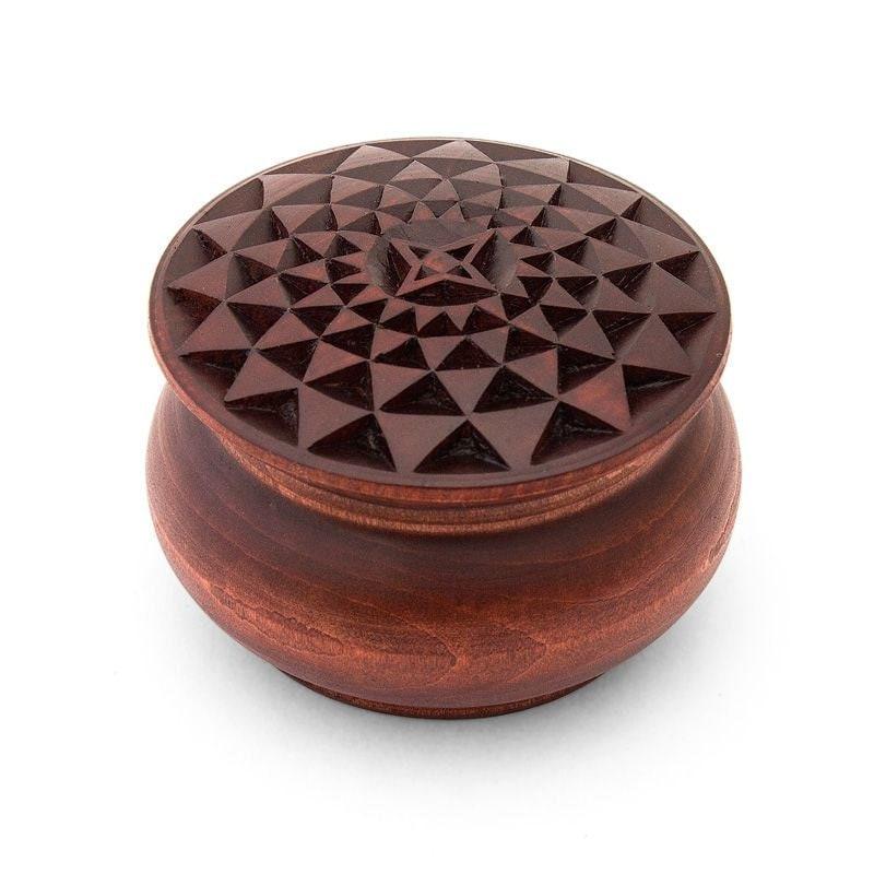 Wooden box round wooden box wood box jewelry box jewelry box for Circular wooden box
