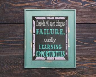 No Such Thing as Failure Print
