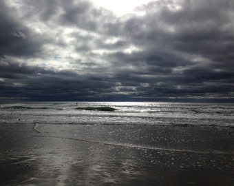Clouds, Sea, Shadows