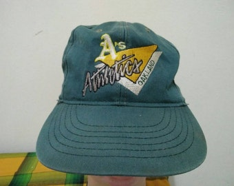 Rare Vintage OAKLAND ATHLETICS Cap Hat Free size fit all