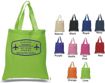 Destination Wedding Tote bag 100% cotton