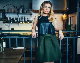 Modern Skirt- Rosalia khaki