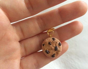 Polymer Clay Choc Chip Cookie Charm
