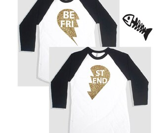 Best Friends Shirt, Mommy and Me shirts, Friends Shirts (2 Shirts)