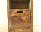Rustic Bedside Cabinet