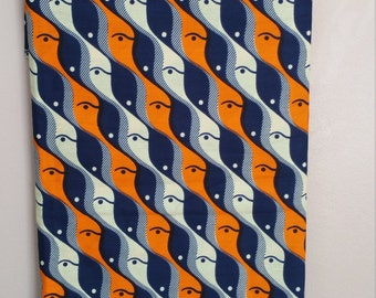 African Wax Print Fabric,  sold by the yard