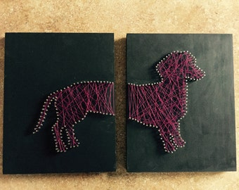 Doxie String Art