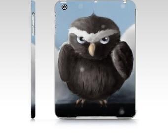Grumpy owl iPad mini case