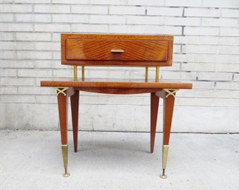 Mid-century side table / nightstand