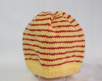 Striped Knit Baby Hat