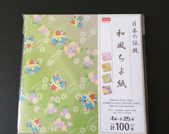 Japanese Traditional Chiyogami Paper Pack