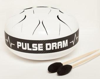 C - Major -Steel tongue drum Hank drum Tank drum Steel drum Slit drum Drum for meditation.