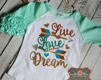 Live, Love, Dream Icing Tee