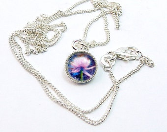Waterlilies 2 mini pendant