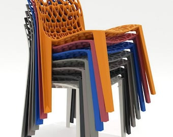 Coral Modern Outdoor Chair