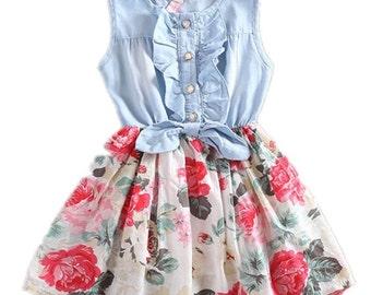 Baby girl summer dress, Easter dress