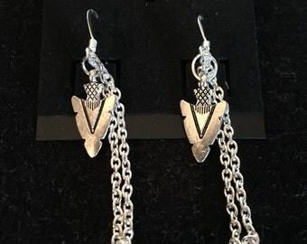 Hand made costume earrings