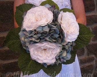 Something Blue Bridal Bouquet Wedding Bouquet