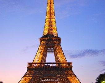 Eiffel Tower at Twighlight