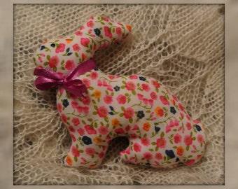 Magnet rabbit handmade