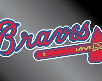 Atlanta Braves Decal Sticker