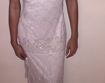 Vintage sequin dress