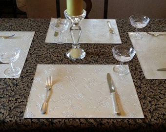 Featured item Elegance Placemats.    Set of 4.
