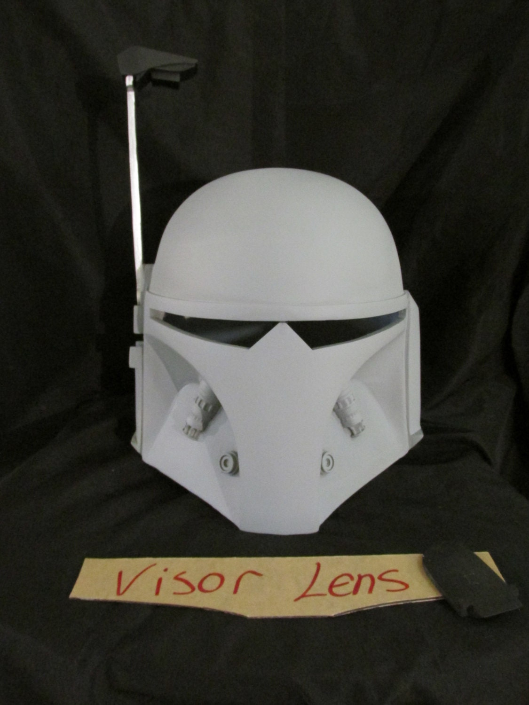 Star Wars Custom V1 Mandalorian Merc Mando Helmet Fan Made