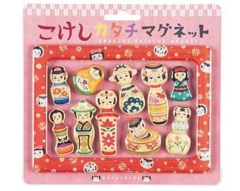 """Japanese Style Magnet """"Kokeshi"""""""