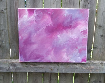 Abstract Fluid Ink-- Pretty in Pink