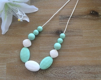 Silicon Teething Necklace 'Cool Breeze'