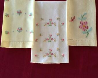 Vintage Guest Towels